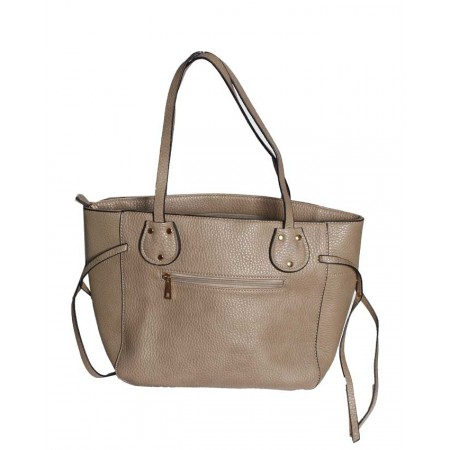 RUE 21 Handbag With Side Strap Design - Grey - MADE IN THE USA