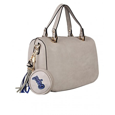 2-In-1 Uniquely Crafted Ladies Handbag - Beige - USA Made