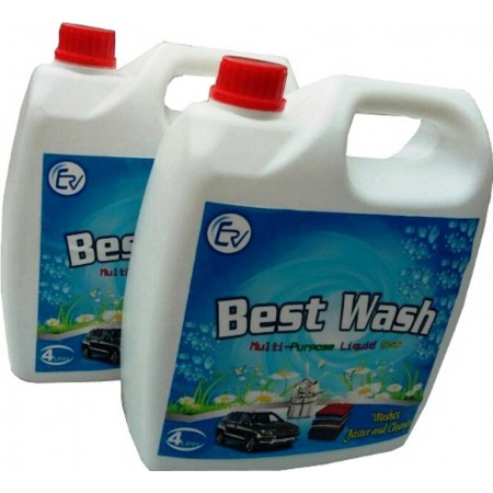 Best Wash Multi-Purpose Liquid Soap - 4Litres X 2packs