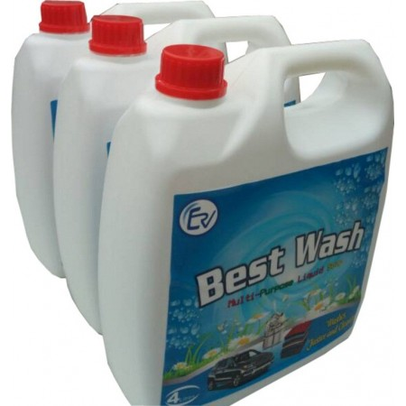 Best Wash Multi-Purpose Liquid Soap - 4Litres X 3packs