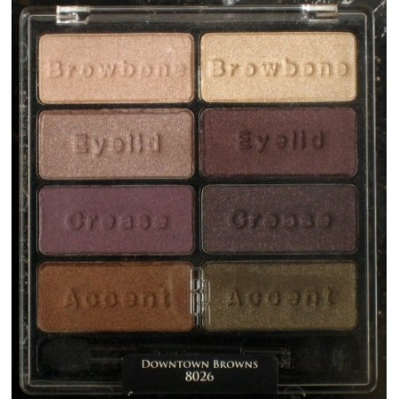 EYE APPEAL SHADOW COLLECTION - DOWNTOWN BROWNS 8026