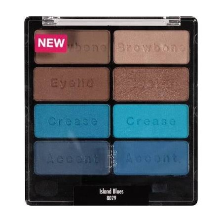 WET N WILD EYE APPEAL SHADOW COLLECTION - ISLAND BLUES 8029