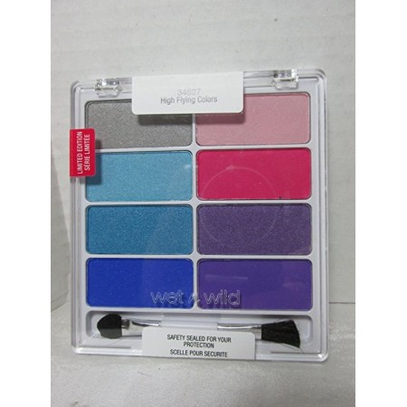 WET N WILD COLOR ICON EYESHADOW COLLECTION - 34527 HIGH FLYING COLORS