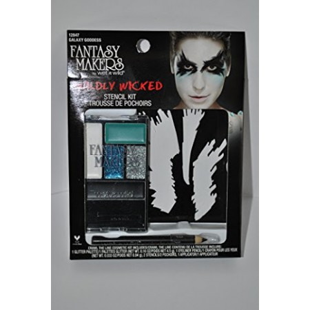 FANTASY MAKERS WILDLY WICKED STENCIL KIT - GALAXY GODDESS