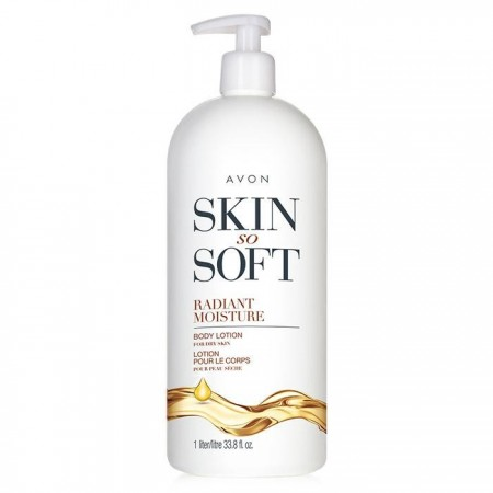 Skin So Soft Radiant Moisture Body Lotion For Dry Skin 33.8ftoz