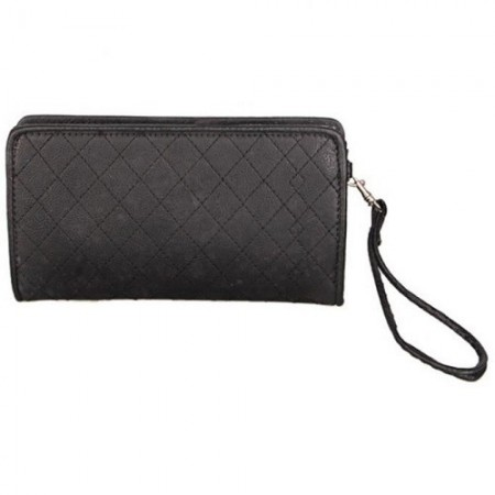 Ladies Leather Purse Black