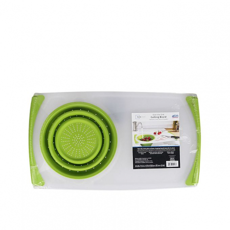Non Slip Over the Sink Cutting Board