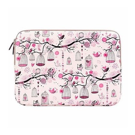 Plemo Water Repellent Canvas Fabric Cover Sleeve For 13 - 13.3 Inches Laptop