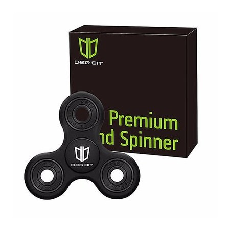 A&S Degbit Fidget Hand Spinner with Hybrid Ceramic Bearings And Shatter Resistance