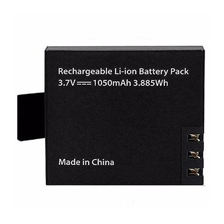 1050mah Rechargeable Battery for 4k Action Camera