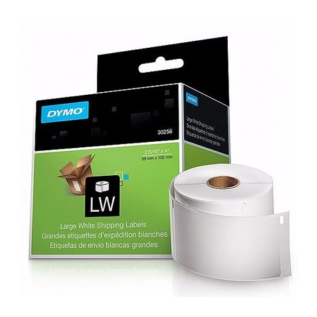 DYMO Lw Standard Shipping Labels For Labelwriter Label Printers - White - 2-5/16'' X 4'', 1