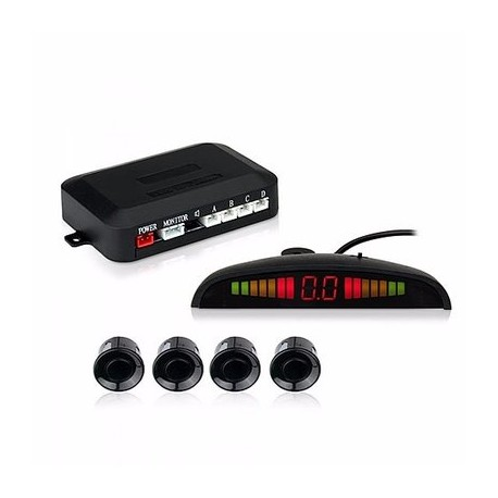 Esky LED Display Car Vehicle Reverse Backup Radar System with 4 Parking Sensors