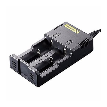 NiteCore-i2-V2014 Intelligent Charger for two Batteries Compatible With IMR/Li-ion