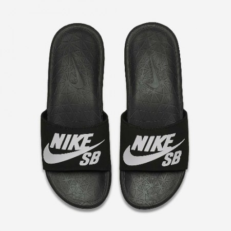 Nike Benassi Solarsoft SB Black/White