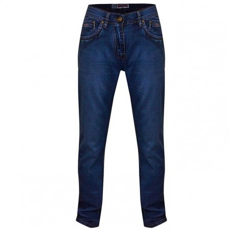 Men's Slim-Fitted Jeans - Blue