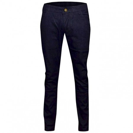 Men's Slim-Fitted Jeans - Deep Blue