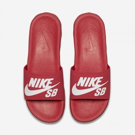 Nike Benassi Solarsoft SB Red/White