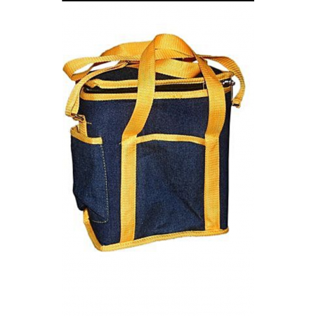 Chuga Jeans Lunch bag - Blue/Yellow